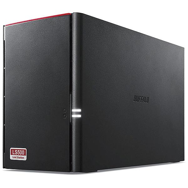 【送料無料】BUFFALO LS520D0402G リンクステーション RAID機能搭載 ネットワークHDD 高速モデル 4TB【在庫目安:お取り寄せ】| NAS RAID レイド