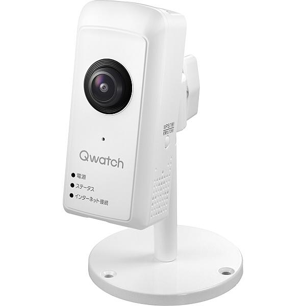 【在庫目安:あり】【送料無料】IODATA TS-WRFE 180度パノラマビュー対応ネットワークカメラ「Qwatch(クウォッチ)」| カメラ ネットワークカメラ ネカメ 監視カメラ 監視 屋内 録画