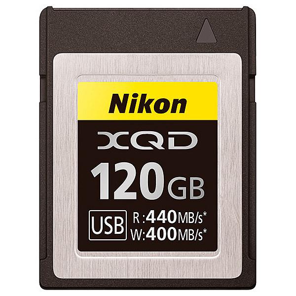 【送料無料】Nikon MC-XQ120G XQDメモリーカード 120GB【在庫目安:お取り寄せ】