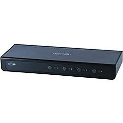 【送料無料】コレガ CG-PC4KVMU-E 法人向け USBキーボード・マウス、アナログディスプレイ対応ボックス型4台用パソコン自動切替器【在庫目安:お取り寄せ】