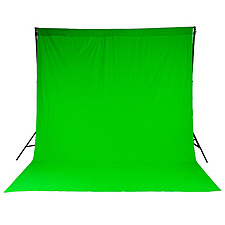 【送料無料】マンフロット LL LC5781 Lastolite クロマキーカーテン背景 3×3.5m グリーン【在庫目安:お取り寄せ】| カメラ レフ板 リフレクター 反射 ブツ撮り 物撮り