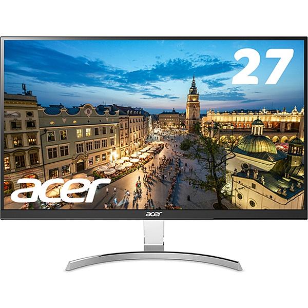 【在庫目安:あり】【送料無料】Acer 27型ワイド液晶ディスプレイ RC271Usmidpx (IPS/ 非光沢/ 2560x1440/ QHD/ 350cd/ 4ms/ DVI-D(Dual Link対応)・HDMI・DisplayPort)