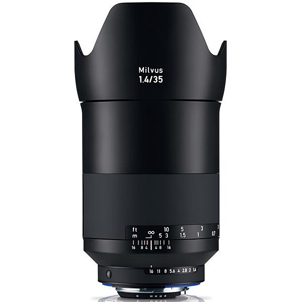 【送料無料】コシナ 178370 Carl Zeiss Milvus ミルバス 35mm F1.4 ZF.2 ニコンFマウント【在庫目安:お取り寄せ】| カメラ 単焦点レンズ 交換レンズ レンズ 単焦点 交換 マウント ボケ