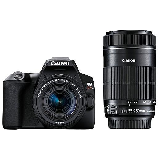 【送料無料】Canon 3452C003 デジタル一眼レフカメラ EOS Kiss X10 (ブラック)・ダブルズームキット【在庫目安:お取り寄せ】