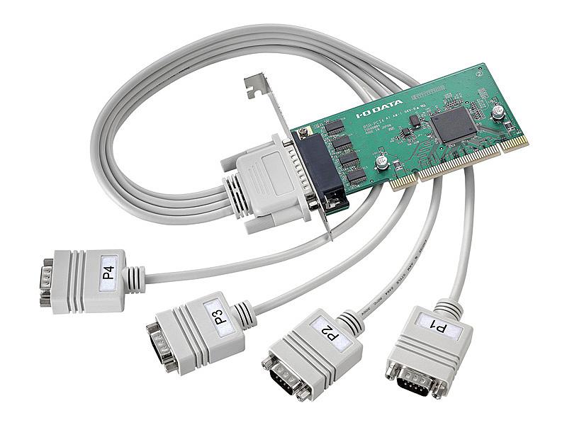 【送料無料】IODATA RSA-PCI4P4 PCIバス専用 RS-232C拡張インターフェイスボード 4ポート【在庫目安:僅少】
