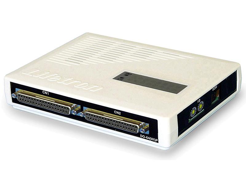 【送料無料】ライフトロン DO-64(WI)P 絶縁型デジタル出力(64点、電源内蔵)【在庫目安:お取り寄せ】| パソコン周辺機器 制御 インターフェイス PC パソコン