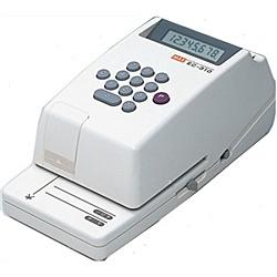 【送料無料】マックス EC-310 電子チェックライタ/ 8桁【在庫目安:お取り寄せ】