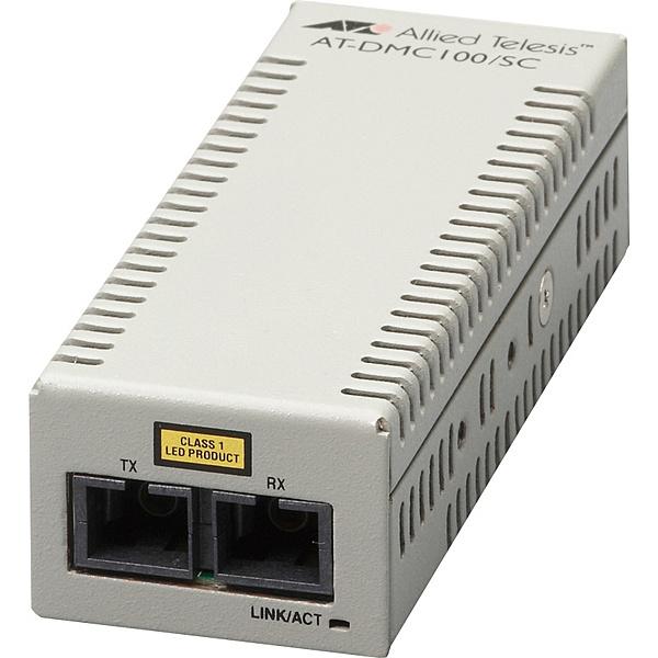 【送料無料】アライドテレシス 3572R AT-DMC100/ SC メディアコンバーター【在庫目安:お取り寄せ】