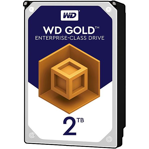 【送料無料】WESTERN DIGITAL 0718037-847924 WD Goldシリーズ 3.5インチ内蔵HDD 2TB SATA6.0Gb/ s 7200rpm/ class 128MB 512e【在庫目安:お取り寄せ】| パソコン周辺機器