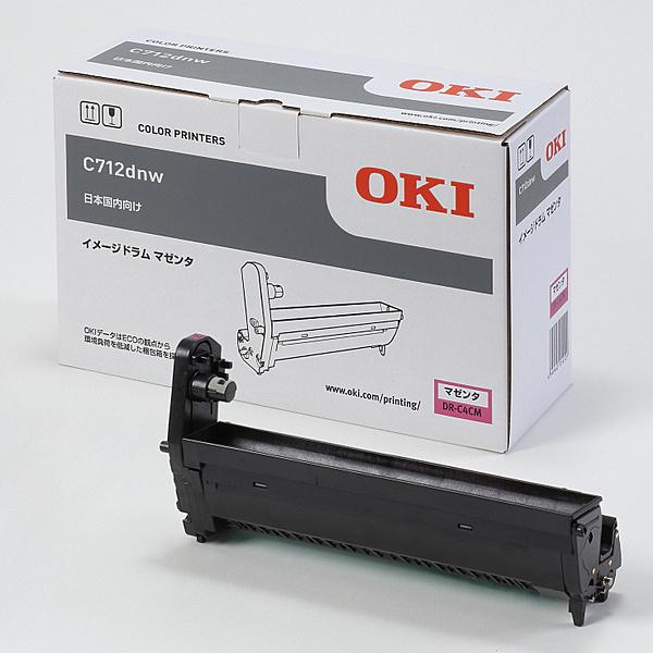 【送料無料】OKIデータ DR-C4CM イメージドラム マゼンタ (C712dnw)【在庫目安:お取り寄せ】| 消耗品 ドラムカートリッジ ドラムユニット ドラム カートリッジ ユニット 交換 新品