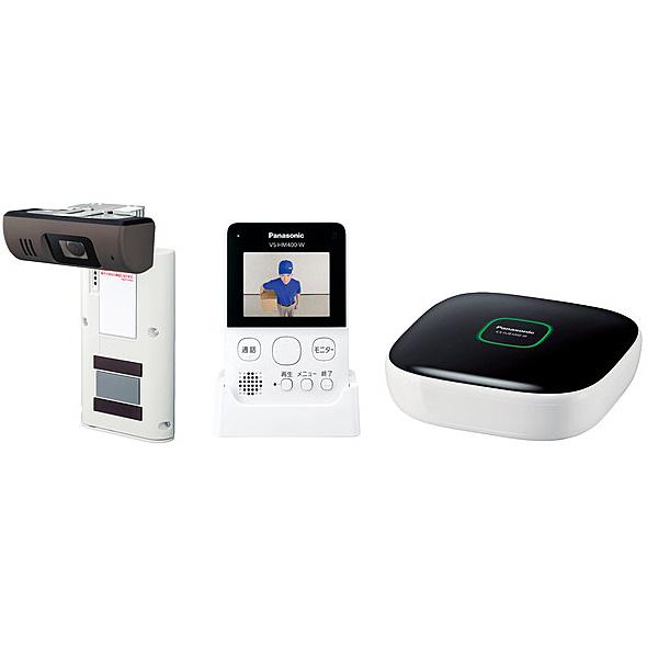 【送料無料】Panasonic VS-HC400K-W ホームネットワークシステム(モニター付きドアカメラ)(ホワイト)【在庫目安:僅少】| カメラ ネットワークカメラ ネカメ 監視カメラ 監視 屋内 録画