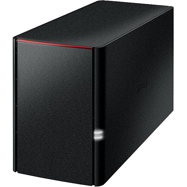 【送料無料】バッファロー LS220D0202G リンクステーション RAID機能搭載 ネットワーク対応HDD 2TB【在庫目安:お取り寄せ】| NAS RAID レイド