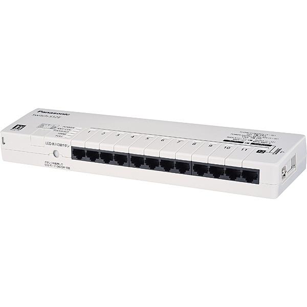 【送料無料】パナソニックLSネットワークス PN211207 12ポート レイヤ2スイッチングハブ Switch-S12E【在庫目安:お取り寄せ】