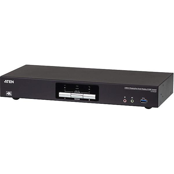 【送料無料】ATEN CS1942DP 2ポートUSB3.0ハブ搭載 4K デュアルDisplayPort KVMPスイッチ【在庫目安:お取り寄せ】
