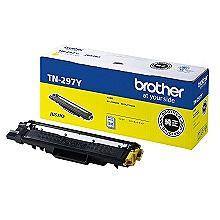 【送料無料】ブラザー TN-297Y トナーカートリッジ 大容量 (イエロー)【在庫目安:僅少】| トナー カートリッジ トナーカットリッジ トナー交換 印刷 プリント プリンター