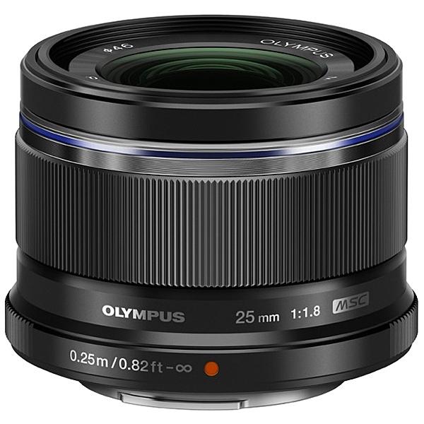 【送料無料】OLYMPUS 25mm F1.8BLK マイクロフォーサーズ用 M.ZUIKO DIGITAL 25mm F1.8 (ブラック)【在庫目安:お取り寄せ】| カメラ 単焦点レンズ 交換レンズ レンズ 単焦点 交換 マウント ボケ
