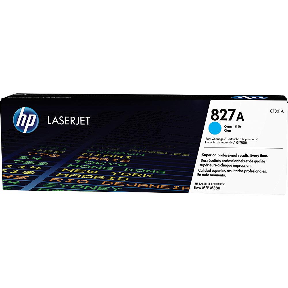 【送料無料】HP CF301A 827A シアン【在庫目安:僅少】  トナー カートリッジ トナーカットリッジ トナー交換 印刷 プリント プリンター