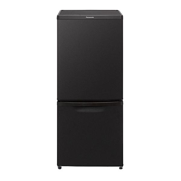 【在庫目安:あり】【送料無料】Panasonic NR-B14CW-T パーソナル冷蔵庫 138L (マットビターブラウン)