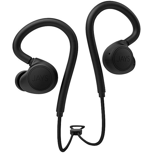 【送料無料】プリンストン JS-MSW-B/B JAYS m-Six Wireless スポーツ用ワイヤレスイヤホン (ブラック・ブラック)【在庫目安:お取り寄せ】