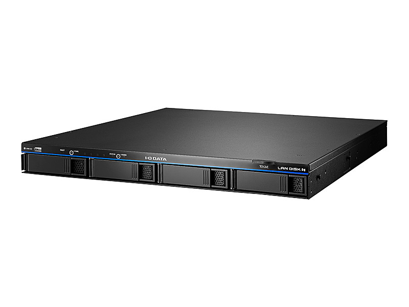 【送料無料】IODATA HDL4-HA4-U 10GbE対応LinuxベースOS搭載 法人向け4ドライブ ラックマウントタイプNAS 4TB【在庫目安:僅少】  パソコン周辺機器 ラックマウント ラック マウント NAS