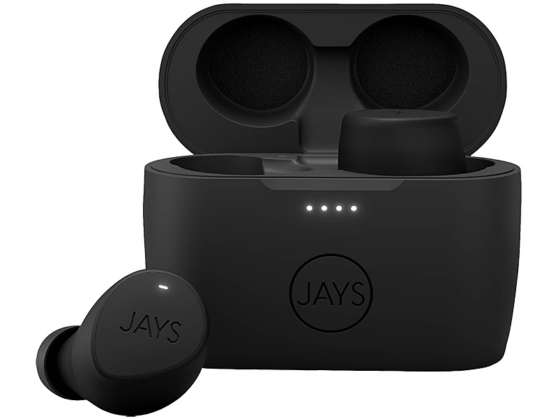 【送料無料】プリンストン JS-MSTW-B/B JAYS m-Seven True Wireless 完全ワイヤレスイヤホン (ブラック・ブラック)【在庫目安:お取り寄せ】
