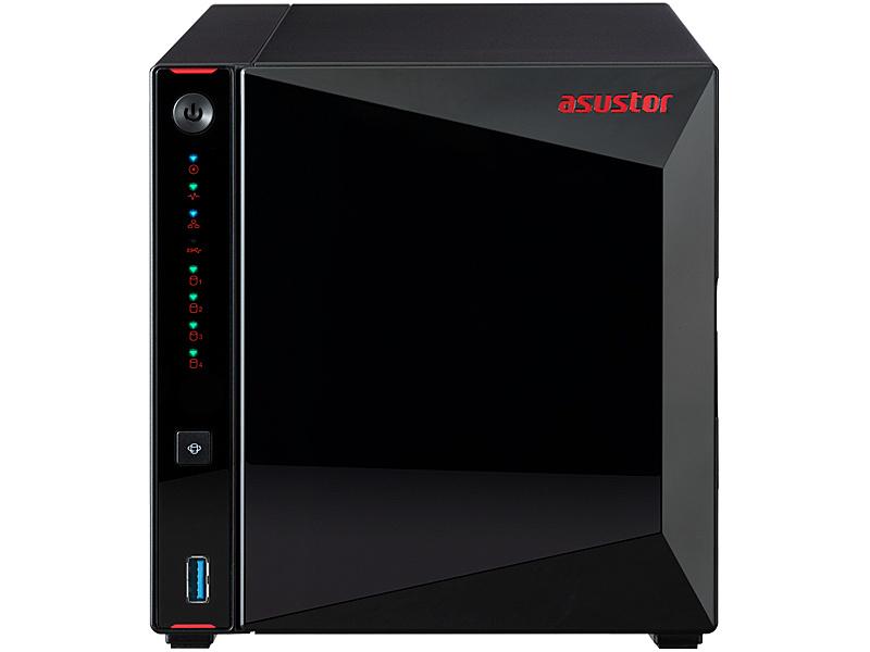 【送料無料】ASUSTOR AS5304T NIMBUSTOR 4 4ベイNAS Intel Celeron Quad-Core 4GB SO-DIMM DDR4 HDMI 2.5GBASE-T x2 USB3.2 Gen1 Type-A x3 Wake-On-Wan AES-NI 3年保証【在庫目安:お取り寄せ】| NAS RAID レイド