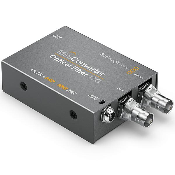 【送料無料】Blackmagic Design CONVMOF12G Mini Converter - Optical Fiber 12G【在庫目安:お取り寄せ】| パソコン周辺機器 グラフィック ビデオ オプション ビデオ パソコン PC