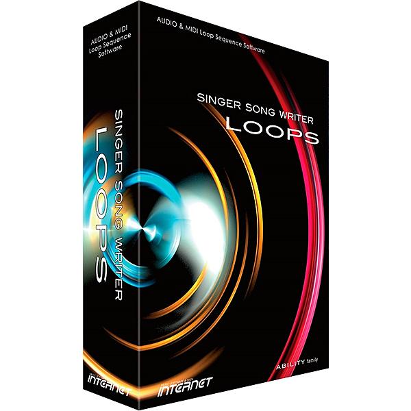 【送料無料】インターネット SSWLP01W Singer Song Writer Loops【在庫目安:お取り寄せ】| ソフトウェア ソフト アプリケーション アプリ ビデオ編集 映像編集 サウンド編集 ビデオ サウンド 編集