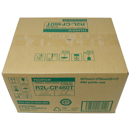 【送料無料】富士フイルム T R2L-CF460T サーマルフォトプリントセット(2Lサイズ用:460枚分)【在庫目安:お取り寄せ】