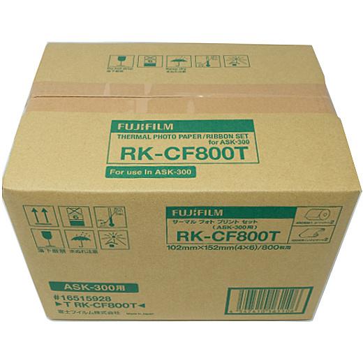 【送料無料】富士フイルム T RK-CF800T サーマルフォトプリントセット(KGサイズ用:800枚分)【在庫目安:お取り寄せ】
