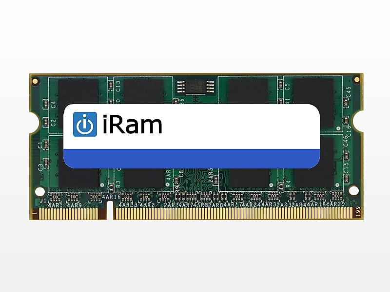 【送料無料】iRam Technology IR4GSO800D2 Mac 増設メモリ DDR2/ 800 4GB 200pin SO-DIMM【在庫目安:お取り寄せ】