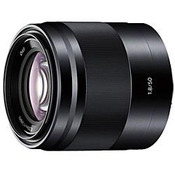 【送料無料】SONY(VAIO) SEL50F18/B Eマウント交換レンズ E 50mm F1.8 OSS ブラック【在庫目安:お取り寄せ】| カメラ 単焦点レンズ 交換レンズ レンズ 単焦点 交換 マウント ボケ