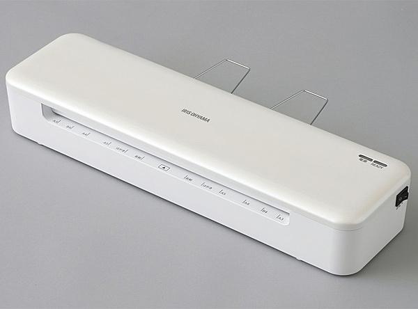 【送料無料】アイリスオーヤマ HSL-A34-W 高速起動ラミネーター ホワイト【在庫目安:僅少】