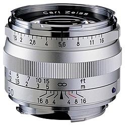 【送料無料】コシナ 170645 Carl Zeiss C Sonnar T* 1.5/ 50 ZMマウント シルバー【在庫目安:お取り寄せ】| カメラ 単焦点レンズ 交換レンズ レンズ 単焦点 交換 マウント ボケ