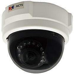 【送料無料】ACTi Corporation E53 3-Megapixel 屋内固定ドームカメラ(D/ N、Basic WDR)【在庫目安:お取り寄せ】  カメラ ネットワークカメラ ネカメ 監視カメラ 監視 屋内 録画