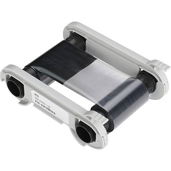 【送料無料】EVOLIS R2F010 2パネル黒リボン (Primacy/ Zenius用)【在庫目安:お取り寄せ】| 消耗品 インクリボン インク リボン カートリッジ カセット 黒 交換 新品