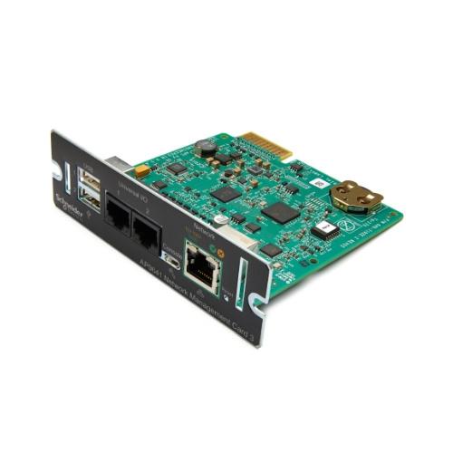 【送料無料】シュナイダーエレクトリック AP9641JOS5 Network Management Card 3 with Environmental Monitoring オンサイト5年保証【在庫目安:お取り寄せ】  電源関連装置 UPS