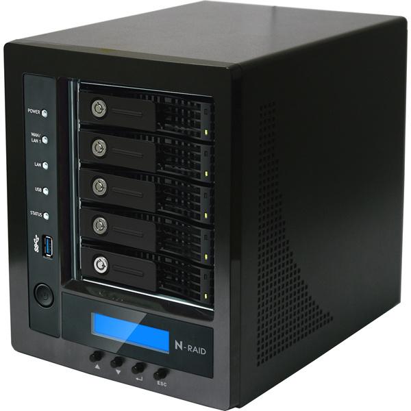 【送料無料】ヤノ販売 NR5810M-15T N-RAID 5810M 15.0TB【在庫目安:お取り寄せ】| NAS RAID レイド