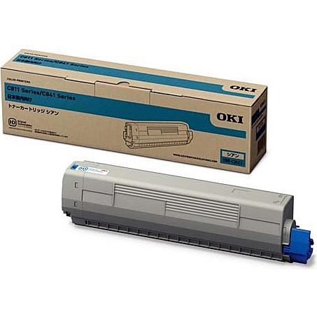 【在庫目安:あり】【送料無料】OKIデータ TNR-C3LC1 トナーカートリッジ シアン (MC8シリーズ/ C8シリーズ)| トナー カートリッジ トナーカットリッジ トナー交換 印刷 プリント プリンター