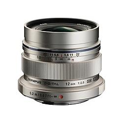 【送料無料】OLYMPUS EW-M1220 マイクロフォーサーズ用 M.ZUIKO DIGITAL ED 12mm F2.0 (シルバー)【在庫目安:お取り寄せ】| カメラ 単焦点レンズ 交換レンズ レンズ 単焦点 交換 マウント ボケ
