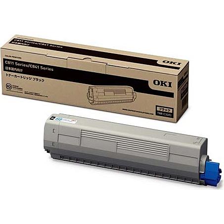【在庫目安:あり】【送料無料】OKIデータ TNR-C3LK1 トナーカートリッジ ブラック (MC8シリーズ/ C8シリーズ)  トナー カートリッジ トナーカットリッジ トナー交換 印刷 プリント プリンター