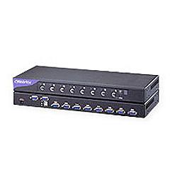 【送料無料】オースチンヒューズエレクトロニクス CV-S801 USB&PS/ 2対応8ポート、1U、KVM、CE-6 ケーブル8本付属【在庫目安:お取り寄せ】| パソコン周辺機器 KVMスイッチ ラックマウント KVM スイッチ PC パソコン