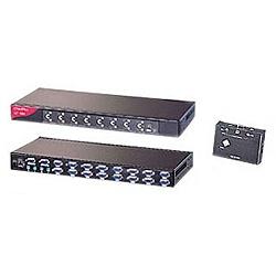 【送料無料】オースチンヒューズエレクトロニクス CV-1602 USB&PS/ 2対応 2コンソール1U ラックマウント + 16ポートKVMスイッチ【在庫目安:お取り寄せ】| パソコン周辺機器