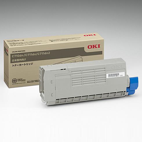 【送料無料】OKIデータ TNR-C4GK1 トナーカートリッジ ブラック (C711dn/ C711dn2)【在庫目安:僅少】| トナー カートリッジ トナーカットリッジ トナー交換 印刷 プリント プリンター