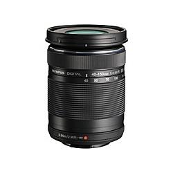 【送料無料】OLYMPUS EZ-M4015-R BLK マイクロフォーサーズ用 M.ZUIKO DIGITAL 40-150mm F4.0-5.6 R (ブラック)【在庫目安:お取り寄せ】| カメラ ズームレンズ 交換レンズ レンズ ズーム 交換 マウント