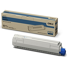 【送料無料】OKIデータ TNR-C3PC1 トナーカートリッジ シアン MC862dn-T/ 862dn用【在庫目安:僅少】| トナー カートリッジ トナーカットリッジ トナー交換 印刷 プリント プリンター