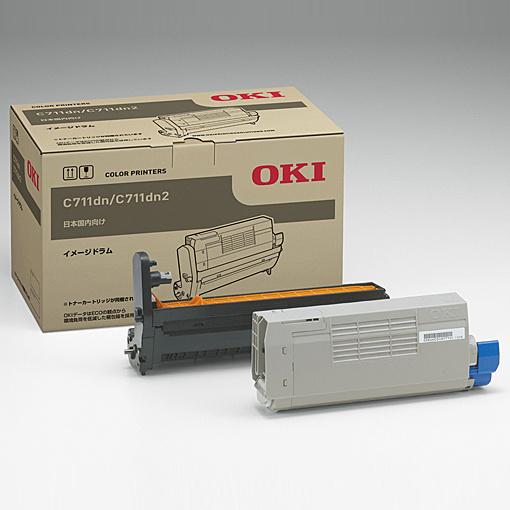 【送料無料】OKIデータ ID-C4JC イメージドラム シアン (C711dn/ C711dn2)【在庫目安:僅少】  消耗品 ドラムカートリッジ ドラムユニット ドラム カートリッジ ユニット 交換 新品