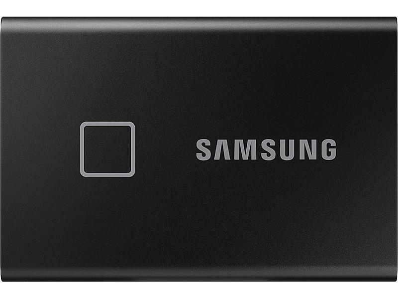 【送料無料】サムスン MU-PC1T0K/IT Portable SSD T7 Touch [ブラック] 1TB【在庫目安:お取り寄せ】| パソコン周辺機器 外付けSSD 外付SSD 外付け 外付 SSD 耐久 省電力 フラッシュディスク フラッシュ