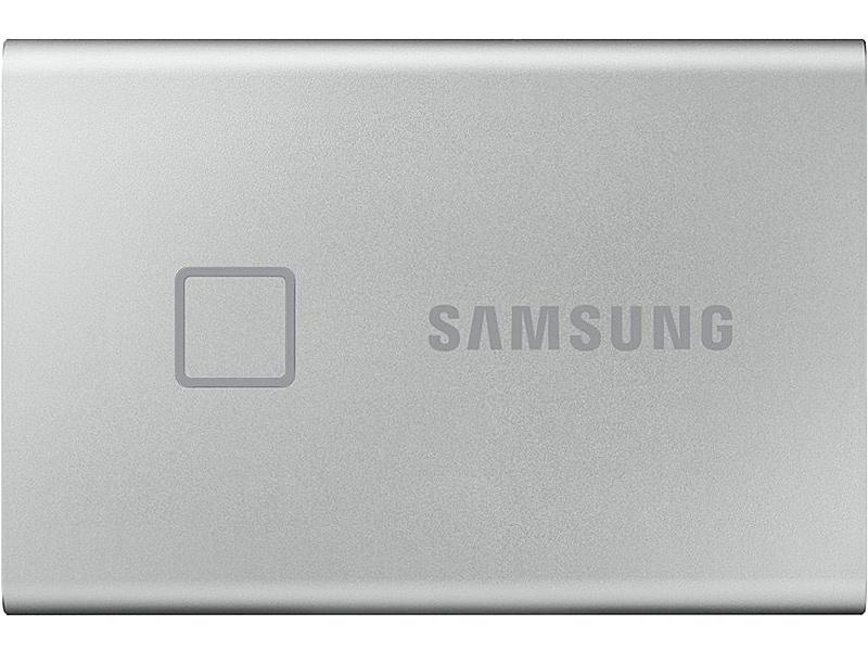 【送料無料】サムスン MU-PC2T0S/IT Portable SSD T7 Touch [シルバー] 2TB【在庫目安:お取り寄せ】| パソコン周辺機器 外付けSSD 外付SSD 外付け 外付 SSD 耐久 省電力 フラッシュディスク フラッシュ