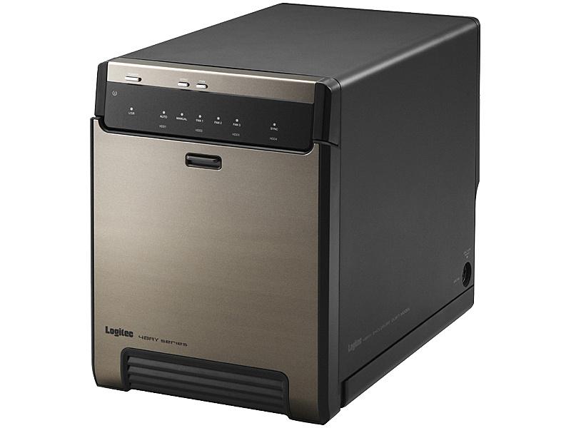 【送料無料】Logitec LGB-4BNHUC USB3.1(Gen2)対応4bayHDDケース/ ブラック【在庫目安:お取り寄せ】